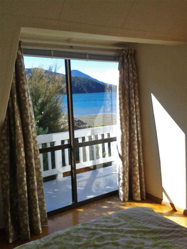 private cottage marlborough sounds view
